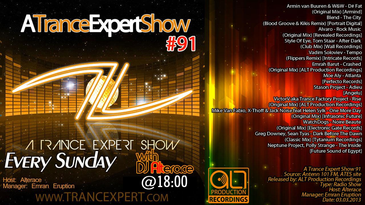 A Trance Expert Show 91